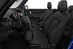 Front seat view of a 2018 Mini Mini Chilli 2 Door Convertible front seat car photos