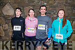 L-R John Hanafin, Tina Walsh, David and Leanne Hanafin at the Good Friday 5 miles run in Killarney last Friday.