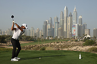 Haydn Porteous (RSA) in action during the third round of the Omega Dubai Desert Classic, Emirates Golf Club, Dubai, UAE. 26/01/2019<br /> Picture: Golffile | Phil Inglis<br /> <br /> <br /> All photo usage must carry mandatory copyright credit (© Golffile | Phil Inglis)
