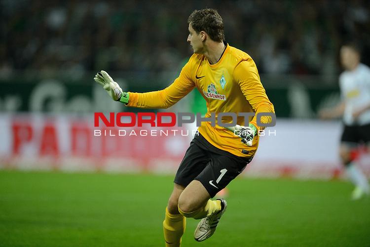 20.10.2012, Weser Stadion, Bremen, GER, 1.FBL, Werder Bremen vs Borussia Moenchengladbach, im Bild<br /> <br /> Sebastian Mielitz (Bremen #1)<br /> Foto &copy; nph / Kokenge *** Local Caption ***