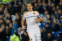 Michael Dawson of Hull City during the Sky Bet Championship match between Cardiff City and Hull City at the Cardiff City Stadium, Cardiff, Wales on 16 December 2017. Photo by Mark  Hawkins / PRiME Media Images.