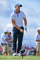 Tyler Light (USA) watches his tee shot on 7 during Saturday's round 3 of the 117th U.S. Open, at Erin Hills, Erin, Wisconsin. 6/17/2017.<br /> Picture: Golffile | Ken Murray<br /> <br /> <br /> All photo usage must carry mandatory copyright credit (&copy; Golffile | Ken Murray)