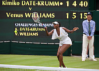 22-06-11, Tennis, England, Wimbledon, Venus Williams