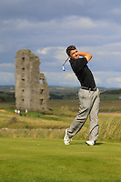 Darragh Coghlan (Portmarnock)on the 13th tee during Round 2 of The South of Ireland in Lahinch Golf Club on Sunday 27th July 2014.<br />