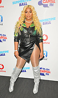 Stefflon Don at the Capital FM Summertime Ball 2018, Wembley Stadium, Wembley Park, London, England, UK, on Saturday 09 June 2018.<br /> CAP/CAN<br /> &copy;CAN/Capital Pictures