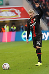 03.11.2018, BayArena, Leverkusen, GER, 1. FBL,  Bayer 04 Leverkusen vs. TSV 1899 Hoffenheim,<br />  <br /> DFL regulations prohibit any use of photographs as image sequences and/or quasi-video<br /> <br /> im Bild / picture shows: <br /> Julian Brandt (Leverkusen #10),  mit einem Freistoss<br /> Foto &copy; nordphoto / Meuter