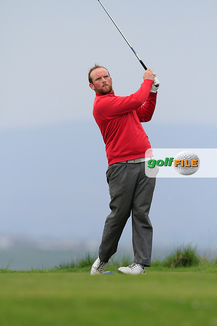 Simon Bryan (Delgany) during round 2 of The West of Ireland Amateur Open in Co. Sligo Golf Club on Saturday 19th April 2014.<br /> Picture:  Thos Caffrey / www.golffile.ie