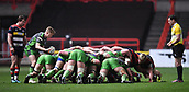 23rd March 2018, Ashton Gate, Bristol, England; RFU Rugby Championship, Bristol versus Yorkshire Carnegie; Yorkshire Carnegie line up another scrum penalty