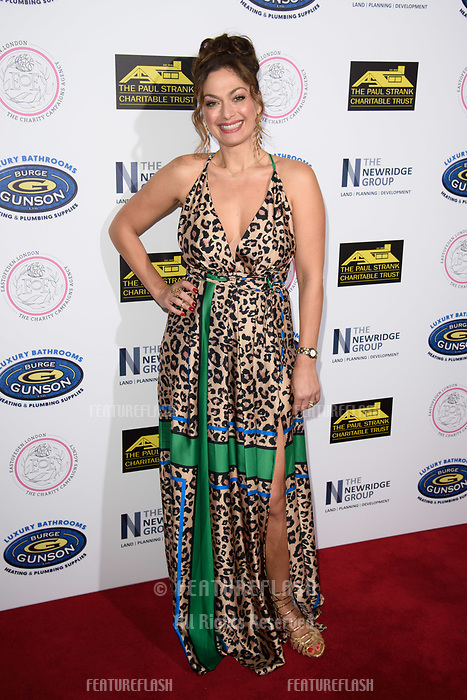 LONDON, UK. September 22, 2018: Tonia Buxton at the Paul Strank Charitable Trust Annual Gala at the Bank of England Club, London.<br /> Picture: Steve Vas/Featureflash