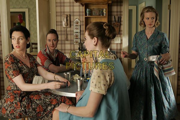 KATE CONNOR, JEANNE SIMPSON, ANNE DUDEK, JANUARY JONES<br /> in Mad Men (Season 1)<br /> *Filmstill - Editorial Use Only*<br /> CAP/FB<br /> Image supplied by Capital Pictures
