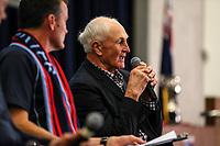 Ian Kirkpatrick. Prematch. Kings College 1st XV v Sacred Heart College, Sacred Heart, Auckland, Saturday 26  May 2018. Photo: Simon Watts/www.bwmedia.co.nz