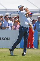 Jordan Spieth (USA) watches his tee shot on 2 during round 1 of the AT&amp;T Byron Nelson, Trinity Forest Golf Club, at Dallas, Texas, USA. 5/17/2018.<br /> Picture: Golffile | Ken Murray<br /> <br /> <br /> All photo usage must carry mandatory copyright credit (&copy; Golffile | Ken Murray)