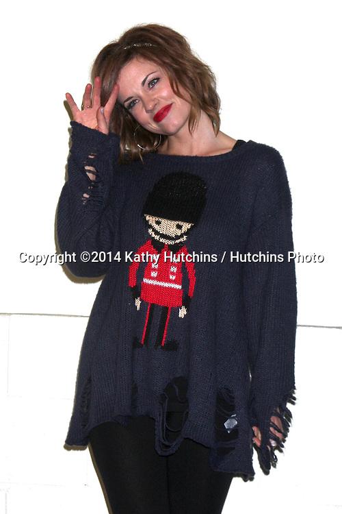LOS ANGELES - NOV 30:  Molly Burnett at the 2014 Hollywood Christmas Parade at the Hollywood Boulevard on November 30, 2014 in Los Angeles, CA