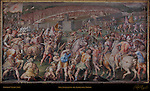 Pisa Attacked by the Florentine Troops Vasari Salone dei Cinquecento (Hall of 500) Palazzo Vecchio Florence