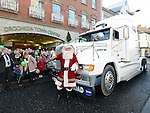 Santa's arrival at Drogheda Town Centre. Photo:Colin Bell/pressphotos.ie