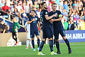 June 19th 2017, Kielce, Poland; UEFA European U-21 football championships, England versus Slovakia; James Ward-Prowse (ENG) and Calum Chambers (ENG)  celebrate their come-freom-behind win