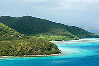 Leinster Bay viewed from the Johnny Horn Trail<br />