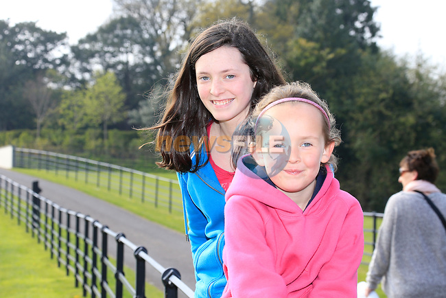Orla and Anna Delany at the open day at Oldbridge house<br /> Picture: www.newsfile.ie