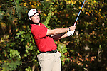 31 October 2016: North Carolina State University's Jacob McBride. The Third Round of the 2016 Bridgestone Golf Collegiate NCAA Men's Golf Tournament hosted by the University of North Carolina Greensboro Spartans was held on the West Course at the Grandover Resort in Greensboro, North Carolina.