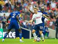 Tottenham's Christian Eriksen during the Premier League match between Tottenham Hotspur and Chelsea at Wembley Stadium, London, England on 20 August 2017. Photo by Andrew Aleksiejczuk / PRiME Media Images.