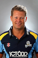 PICTURE BY VAUGHN RIDLEY/SWPIX.COM - Cricket - County Championship Div 2 - Yorkshire County Cricket Club 2012 Media Day - Headingley, Leeds, England - 29/03/12 - Yorkshire's Gerard Brophy.