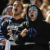 Members of &quot;Sailor Nation&quot; cheer on the Oceanside varsity football team during its 31-22 win over Massapequa in a Nassau County Conference I semifinal at Hofstra University on Saturday, Nov. 14, 2015. The victory vaulted Oceanside into the county final for the first time since 1977.<br /> <br /> James Escher