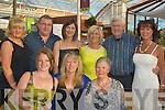 TRUST: The sun shone at the Niall Mellon Township Trust fundraising evening on Saturday at the Ballseedy Garden Centre, Tralee. Front l-r: Bairbre Barrett, Maire O Heare and Ann Barrett. Back l-r: Angela Smith, John Barrett, Gerslyn Ainsworth, Eithna Redmond, Paul Jackson and Deirdre Durran..