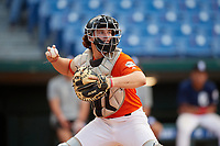 Maxwell Shor (13) of Palm Desert High School in La Quinta, CA during the Perfect Game National Showcase at Hoover Metropolitan Stadium on June 18, 2020 in Hoover, Alabama. (Mike Janes/Four Seam Images)