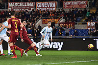 gol Ivan Marcano  Roma. Goal celebration.<br /> Roma 14-01-2019 Stadio Olimpico<br /> Football Italy Cup 2018/2019, Round of 16 <br /> AS Roma - Virtus Entella<br /> Foto Image Sport  / Insidefoto