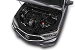 Car stock 2018 Acura TLX AUTO 4 Door Sedan engine high angle detail view