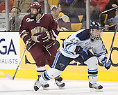 Nathan Gerbe, Jon Jankus - The Boston College Eagles defeated the University of Maine Black Bears 4-1 in the Hockey East Semi-Final at the TD Banknorth Garden on Friday, March 17, 2006.