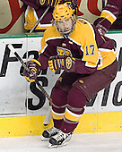 Blake Wheeler - The University of Minnesota Golden Gophers defeated the University of North Dakota Fighting Sioux 4-3 on Friday, December 9, 2005, at Ralph Engelstad Arena in Grand Forks, North Dakota.
