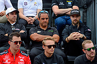 Verizon IndyCar Series<br /> Indianapolis 500 Drivers Meeting<br /> Indianapolis Motor Speedway, Indianapolis, IN USA<br /> Saturday 27 May 2017<br /> Juan Pablo Montoya, Team Penske Chevrolet, looks a little grumpy.<br /> World Copyright: F. Peirce Williams