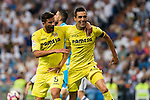 Villarreal's Bruno Soriano during the match of La Liga between Real Madrid  and Villarreal Club de Futbol at Santiago Bernabeu Estadium in Madrid. September 21, 2016. (ALTERPHOTOS/Rodrigo Jimenez)