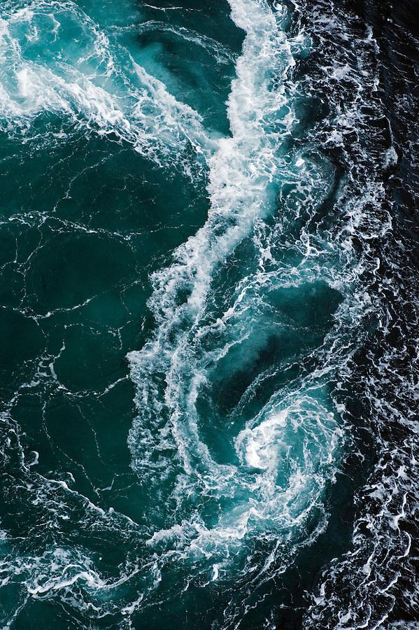 The whirlpools of Saltstraumen<br /> Atlantic marine life, Saltstraumen, Bod&ouml;, Norway