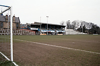 General view of Bishop Auckland FC Football Ground, Kingsway, Bishop Auckland, County Durham, County Durham, pictured on 7th April 1996
