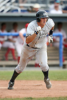 July 9th 2007:  Chris Raber of the Staten Island Yankees, Class-A affiliate of the New York Yankees, at Dwyer Stadium in Batavia, NY.  Photo by:  Mike Janes/Four Seam Images