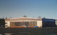 Hangar at Airport, Yakutat, Alaska, US