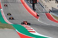 3rd November 2019; Circuit of the Americas, Austin, Texas, United States of America; Formula 1 United States Grand Prix, race day; Scuderia Ferrari, Charles Leclerc - Editorial Use