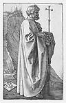 The Apostle Philip by Albrecht Dürer, 1526