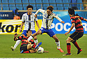 (L-R) Sota Nakazawa (Gamba), Park Sung-Ho (Steelers), Shu Kurata (Gamba), Park Hee-Chul (Steelers),.MAY 2, 2012 - Football / Soccer :.AFC Champions League Group E match between Pohang Steelers 2-0 Gamba Osaka at Pohang Steel Yard in Pohang, South Korea. (Photo by Takamoto Tokuhara/AFLO)