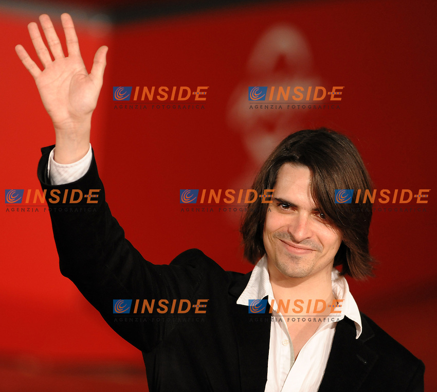 Guillaume Quatravaux<br /> Third edition of the Rome International film festival<br /> Roma 28/10/2008 <br /> Red Carpet - Le Plaisir de chanter<br /> Photo Andrea Staccioli Insidefoto