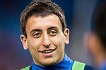Mikel Oyarzabal Ugarte of Real Sociedad in training prior to the La Liga match between Atletico de Madrid vs Real Sociedad at the Vicente Calderon Stadium on 04 April 2017 in Madrid, Spain. Photo by Diego Gonzalez Souto / Power Sport Images