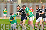 Ardfert's Dermot Dineen and John Mitchels No.24 D Locke and No.19 E Kelliher..   Copyright Kerry's Eye 2008
