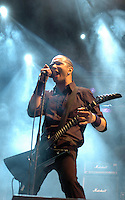 Danko Jones - frontman Danko - kanadische / Canadian Garage-Blues-Rock-Band. Foto: Norman Rembarz..aif.....action-in-focus.de..