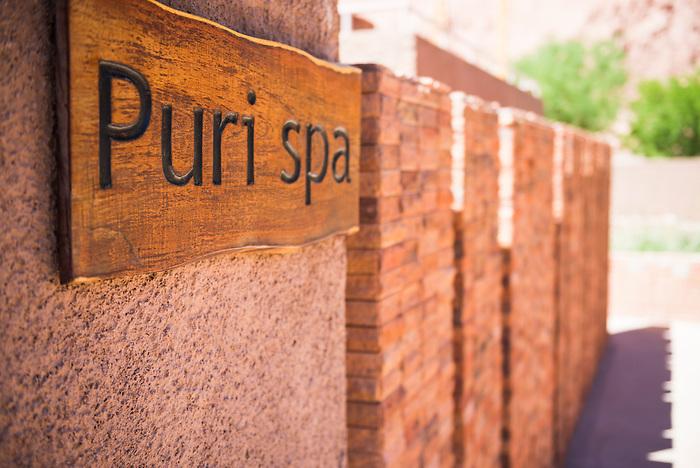 Puri Spa, Hotel Alto Atacama Desert Lodge and Spa, San Pedro de Atacama, Atacama Desert, Chile