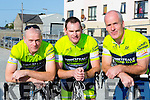 Abbeyfeale CC cyclists Tom White, Padraig O'Donnell and Brendan Brosnan who competed  in the Currow CC cycle in aid of Castleisland Day care centre on Sunday