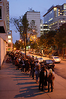Montreal (Qc) CANADA, July 11, 2007 -<br /> <br /> Fans line up to see<br /> American Actor David Arquette present the horror movie TRIPPER, which he directed, at fantasia Film Festival in Montreal, July 11, 20007.<br /> <br /> photo : Pierre Roussel (c)  Images Distribution