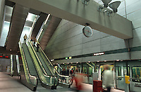 in der Metro, Kopenhagen, Daenemark