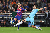 FOOTBALL: FC Barcelone vs SK Slavia Praha - Champions League - 05/1012019<br /> Frankie de Jong, Tomas Soucek<br /> <br /> <br /> Barcellona 5-11-2019 Camp Nou <br /> Barcelona - Slavia Praga <br /> Champions League 2019/2020<br /> Foto Paco Largo / Panoramic / Insidefoto <br /> Italy Only